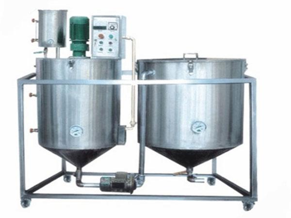 小型精炼油装置